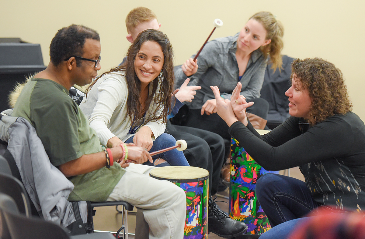 Music Therapy - Photo By Scott Gardiner